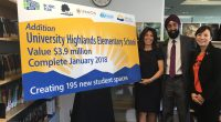 MLA Richard T Lee on behalf of Education Minister Mike Bernier announced recentlythat a $3.9 million expansion of University Highlands Elementarywill address the growing need for an additional 195 student […]