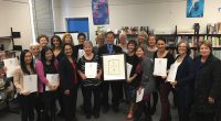 "Teachers in Burnaby School District's LINC program have won another award. This time it's first place in the cross-Canada-CCLB ""Language is the Key"" contest in the category teacher/administrator. Additionally, Natasha […]"