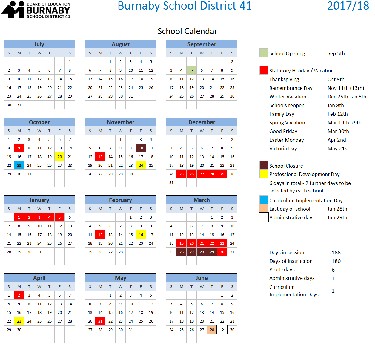 2016 2017 school year calendar st mary s catholic school