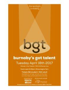 Burnaby's Got Talent @ Micheal J Fox Theatre | Council Bluffs | Iowa | United States
