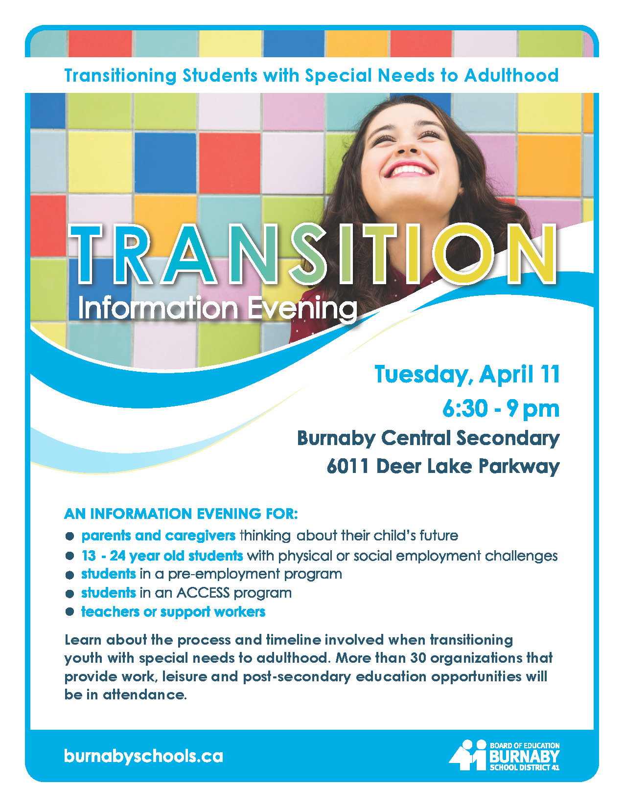 Transition Info Evening @ Burnaby Central Secondary | Burnaby | British Columbia | Canada