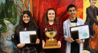 "Taking on challenges head on. Being Canadian. Honouring heritage and culture. These are some of the topics that eight finalists in the Grade 7 Public Speaking Challenge spoke about, presenting on the theme, ""This Makes […]"